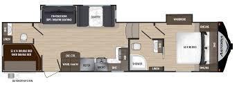 aerolite rv floorplans and pictures