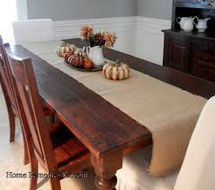 burlap table runner home remedies