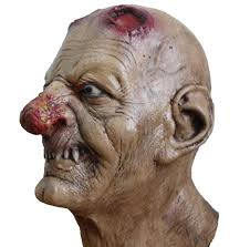 Zombie Mask Wholesale Zombie Mask Realistic Horror Bloody Full Face Head Latex