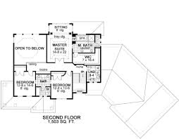 Floor 51 by Craftsman Style House Plan 3 Beds 2 50 Baths 3204 Sq Ft Plan 51 303