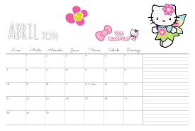 imagenes calendario octubre 2015 para imprimir calendarios de hello kitty todo hello kitty