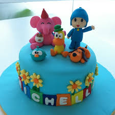 pocoyo cake toppers tearoom by bel jee pocoyo cake smaller version