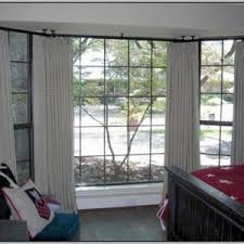 Umbra Bay Window Curtain Rod Bay Window Curtain Rods Target Curtain Home Decorating Ideas