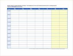 templateemployee work templatepng word timetable template blank