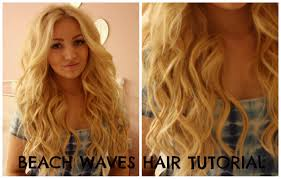 beach waves hair tutorial curling wand perfect victoria secret