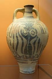 Minoan Octopus Vase File Minoan Pottery Stirrup Jar 1300 1200 Bc Bm Cat Vases C501