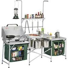 Ozark Trail Deluxe Camp Kitchen And Sink Table Ozark Trail - Camping kitchen with sink