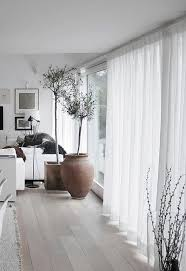 Window Treatment Ideas For Living Room Best 25 Sheer Curtains Ideas On Pinterest Hanging Curtains