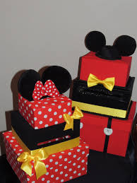 mickey mouse party favors mouse card box mickey mouse party decorations