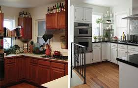 photos cuisines relook s renovation cuisine bois avant apres barricade mag renovee newsindo co