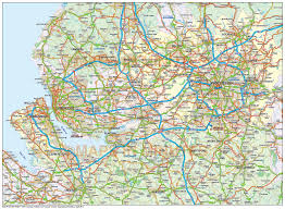 vector map digital vector map of greater liverpool manchester 250k scale in