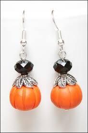 halloween earrings witches hat tango black tie affair black