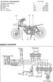 yamaha dirt bike wiring diagram bike life pinterest dirt