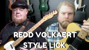 redd volkaert style country guitar lick lesson levi clay youtube