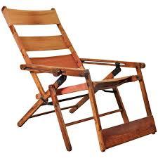 antique ocean steamer deck chair at 1stdibs