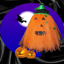 full figure halloween jack o u0027 lantern pumpkin tutu tutorial youtube