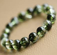bead bracelet crystal images 10mm natural green phantom crystal ghost round beads bracelet aaaa jpg