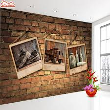 Livingroom Cafe Compare Prices On Brick Wall Wallpaper Cafe Bar Online Shopping