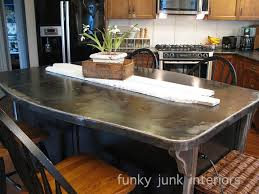 metal kitchen island a bullet proof funky metal kitchen island top hometalk