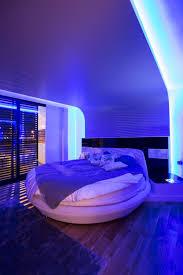 chambre lumiere architecture chambre coucher lumiere blue une maison moderne en