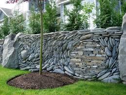 Backyard Retaining Wall Ideas Triyae Com U003d Garden Retaining Wall Ideas Various Design