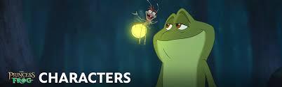 princess frog characters disney movies