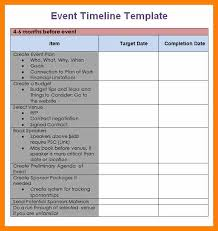 5 event planning schedule template commerce invoiceevent