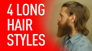 four ways to wear long hair eric bandholz youtube