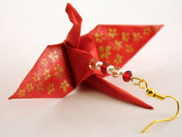 3d cranes blog archive origami crane earrings