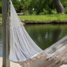 Hammock Overstock by Xxl Hand Woven Thick String Double Hammock Walmart Com
