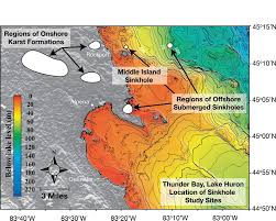 Map Of Sinkholes In Florida by Thunder Bay 2013 Condition Report