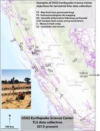 Usgs Earthquake Map California U S Geological Survey Land Imaging Report Site