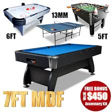 pool and air hockey table room package 7ft timber pool table ping pong soccer air hockey table