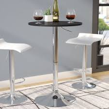 Adjustable Height Bar Table Round Pub Tables U0026 Bistro Sets You U0027ll Love Wayfair