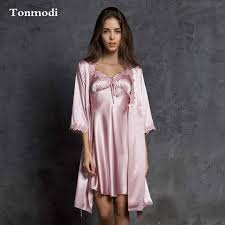 elderly nightgowns robes for women silk robe spaghetti