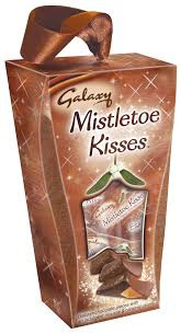 galaxy mistletoe kisses for christmas girlie gossip