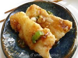 cuisine chinoise poisson recettes d une chinoise cabillaud aux cinq parfums 五香鳕鱼 wǔ