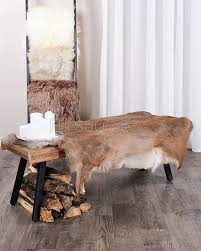 faux deer skin rug rug designs