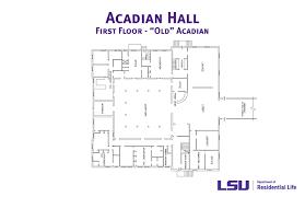 acadian floor plans acadian hall
