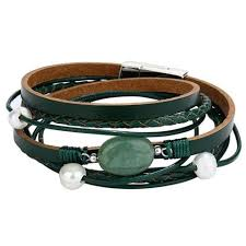 leather women bracelet images Multilayer leather bracelet for women jpg