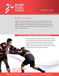 rugby injuries rugby injury prevention u0026 treatment