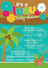 luau baby shower invitations luau baby shower invitations by