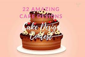 design a cake cake design contest 22 bespoke cake designs treats designbump