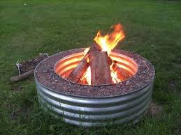 How To Use A Firepit Can You Use A Galvanized Tub For A Pit Pit Grill Ideas