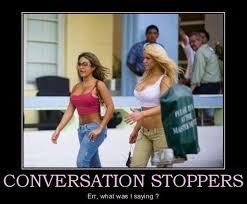 Meme Conversation - conversation stoppers