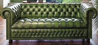 Green Leather Sectional Sofa Green Leather Sofa My Future Home Furniture Pinterest