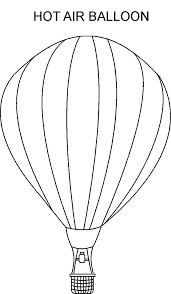 balloon coloring pages air balloon coloring pages printable coloringstar
