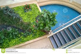 indoor garden design stock photo image 38848518