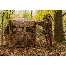 Pop Up Hunting Blinds Camouflage Portable Ground Hunting Tent Stealth Deer Hunting And