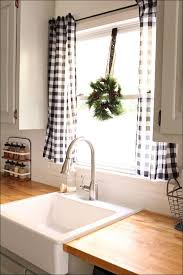 Cheap Kitchen Curtains Kitchen Blue Curtains Black And White Kitchen Valances